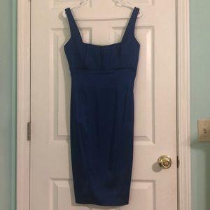 Women's Calvin Klein blue maxi dress